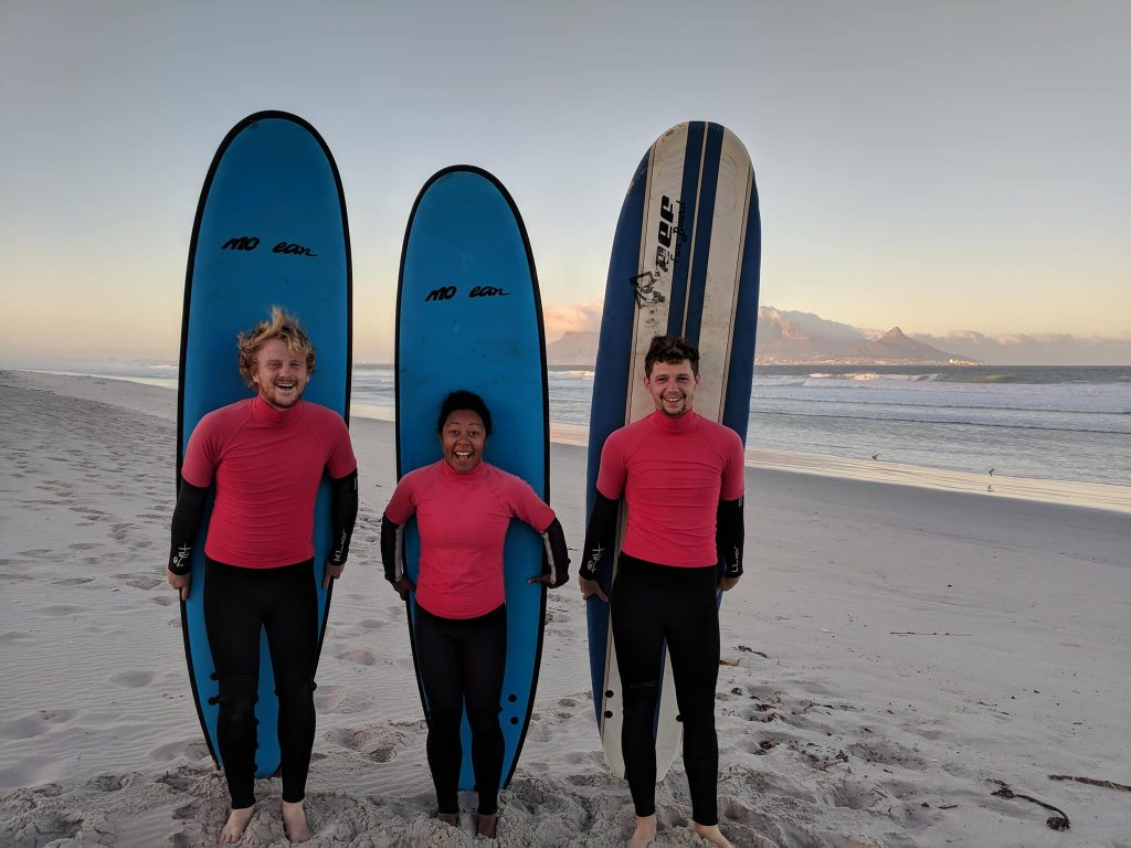Surfing against slavery.
